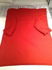 Childrens red fleece sleeved blanket