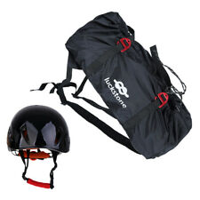 Arborist Rock Climbing Rope Gear Carry Bag Backpack Ground Sheet with Helmet