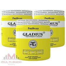 GLADIUS x3 - 960g Pre Workout Booster zum Muskelaufbau Stärkste Hardcore Formel