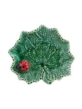 Ragwort Leaf with Ladybug - Bordallo Pinheiro - Made in Portugal Gift
