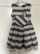 🌸  Designer Jessie And James Adonia Dress 8-10 Yrs Harrods £145  🌸