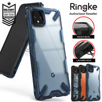 For Google Pixel 4 XL Case Genuine Ringke Fusion X Clear ShockProof Hard Cover