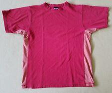 EUC Patagonia T Shirt Organic Cotton Sz.Medium M Color Red Hike Camp Climb Run