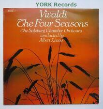 Chvl 163-Vivaldi-Cuatro estaciones Lizzio Salzburg Chamber Orch-ex Disco Lp