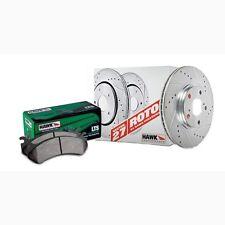 Disc Brake Pad and Rotor Kit-Sector 27 Brake Kits Rear fits 06-10 Hummer H3