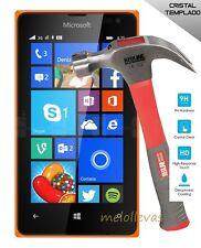 Protector Vidrio templado para Microsoft Nokia Lumia 435 N435 cristal,antigolpes