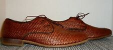 MR. B'S FOR ALDO WOVEN BROWN LEATHER OXFORDS MEN'S SIZE 8 M! FAST~FREE SHIPPING!