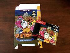 Nintendo NES SPLATTERHOUSE box and manual ONLY!!!