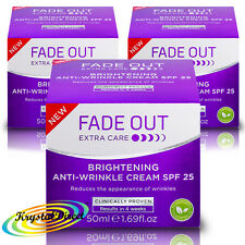 3x Fade Out Extra Care Brightening Anti Wrinkle Cream SPF 25 - 50ml
