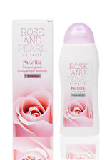 Face Rose & Pearl Cleansing Milk Bulgarian Rose Oil Otto 200 ml 2.6 oz.