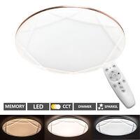 LED Deckenlampe Schlafzimmer mit Fernbedienung 48W Deckenleuchte