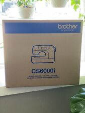 🔥NEW IN BOX🔥Brother CS6000I Computerized Sewing Machine with Wide Table