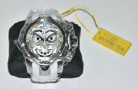 INVICTA RESERVE Ltd DC Comic JOKER 52mm Venom Swiss Quartz White Chrono Watch