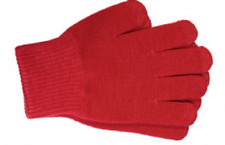 Touch Screen Magic Winter Gloves Mens Ladies For Smartphone Tablet - Red