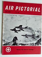 AIR PICTORIAL-JUL 1964-SWISS AIRFORCE,BRISTOL BOMBAY,JODEL MASCARET,SWISS N-20