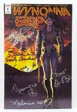 WonderCon 2016 IDW Wynonna Earp Issue 1 signed comic Creator & Actors NM