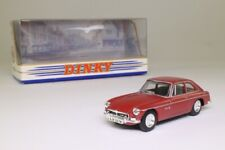 Dinky by Matchbox DY-19; 1973 MGB GT V8; Maroon; Excellent Boxed