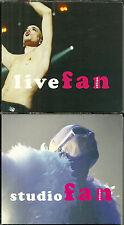 COFFRET 2 CD COLLECTOR - PASCAL OBISPO : FAN : LIVE ET STUDIO ( DIGIPACK )