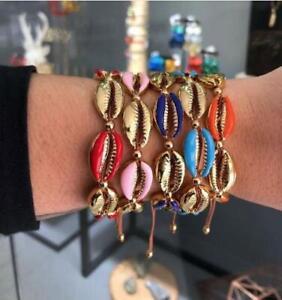 New Summer Fashion Bohemian Shell Vintage Gold Vintage Anklet Bangle Bracelet
