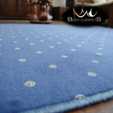 MODERN & CHEAP & QUALITY CARPETS Feltback 'CHIC' blue Bedroom Large RUG ANY SIZE