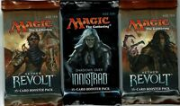 MAGIC THE GATHERING  AETHER REVOLT & SHADOWS OVER INNISTRAD   3 PACK LOT  MTG