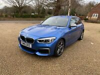 BMW M135i Estoril Blue MANUAL ONLY 31K FSH 5 DOOR F20