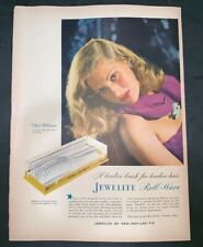 Life Magazine Ad JEWELITE ROLL-WAVE by PRO-PHY-LAC-TIC 1946 AD