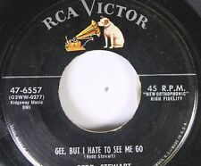 50'S & 60'S 45 Redd Stewart - Gee, But I Hate To See Me Go / The Wind-Up On Rca