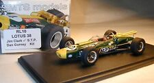 1/43 RL10 LOTUS 38 Jim Clark 1965 Indy 500 winner  BY SMTS