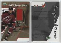 2003-04 In the Game Parkhurst Rookie All Team Gold ART-2 Paul Martin Hockey Card