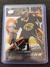 15/16 UD Young Guns YG Malcolm Subban #211 SP RC Boston Bruins