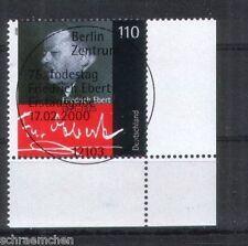 Bund 2101 Eckrand mit FDC Stempel
