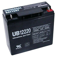 UPG UB12220 12V 22Ah BP20-12 GP12220 NP20-12 SLA Battery