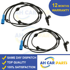 2X ABS SPEED SENSOR FOR PEUGEOT 407 (2004-ON) REAR DRIVER AND PASSENGER SIDE