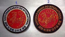Karate shotokan karate belt, patch. diameter 10cm, 2 colors