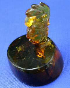 Amber Figure Aztec? Very Nice