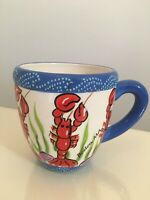 Cape Shore BOSTON Lobster Coffee Mug Kitchen Collection Coffee Mug (Inv# 12)