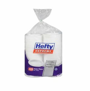 "Hefty Supreme Foam Plates, 6"" (320 ct.) with Free Shipping"