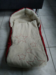 Fußsack Wagensack für Winter von Babylux für Kinderwagen universal