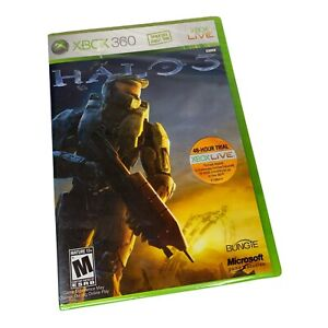 """Halo 3 1st Print """"Do Not Sell Before"""" (Xbox 360 2007) Factory Sealed"""