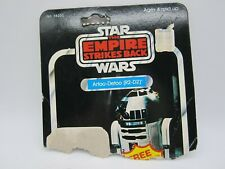 Vintage 1977 Kenner Star Wars ROTJ R2-D2 41 Card Back Cardback - Cut Half