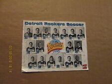 NPSL Detroit Rockers Vintage Defunct Circa 1990's Team Soccer Photo