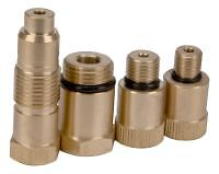 SMALL ENGINE COMPRESSION TESTER SPARK PLUG 14mm ADAPTER 10mm 12mm 18mm 16mm SET