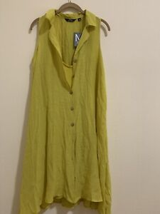 Gabrielle Teal Green Button Maxi Dress Women's Size M. Light Green Medium Dress