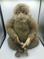 Hansa Salem Monkey Brown Chimp Molly Smorgys Plush Soft Stuffed Toy Animal Doll