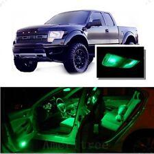 For Ford Raptor 2010-2014 Green LED Interior Kit + Green License Light LED