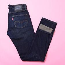 Levi's 30x31 Skinny Slim 511 DARK BLUE INDIGO Denim Jeans W 30 L 31.5 Dungarees