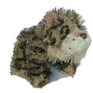 "Ganz Webkinz Lil Kinz Brown Spotted Leopard Stuffed Animal HS031 No Code 10"""