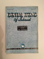 Dental Items Of Interest N° 3 A Monthly Giornale Marzo 1938