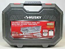 Husky 125pc Mechanics Tool Set w/ Pro Access Ratchets 1004 251 511